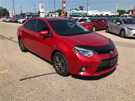 2016 Toyota Corolla LE (Stk: 42215A) in Chatham - Image 1 of 10