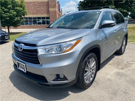 2016 Toyota Highlander XLE (Stk: a02317) in Guelph - Image 1 of 28