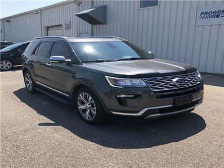 2018 Ford Explorer Platinum (Stk: JGB14247T) in Wallaceburg - Image 1 of 16