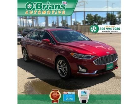 2019 Ford Fusion Hybrid Titanium (Stk: 13504A) in Saskatoon - Image 1 of 21