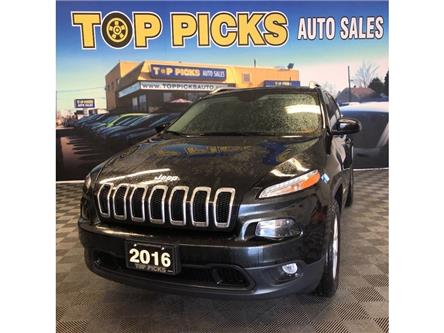 2016 Jeep Cherokee North (Stk: 284503) in NORTH BAY - Image 1 of 29