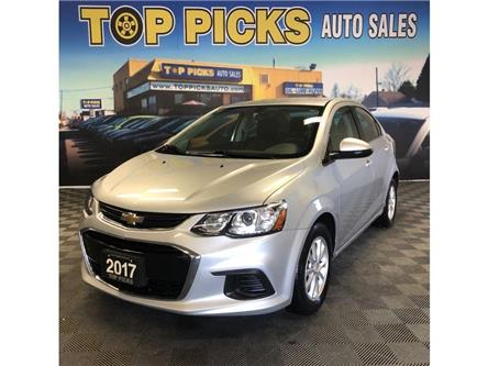 2017 Chevrolet Sonic LT Auto (Stk: 154332) in NORTH BAY - Image 1 of 27