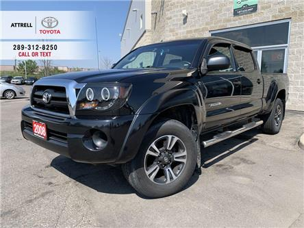 2008 Toyota Tacoma 4WD DOUBLE CAB, SIDE STEP BARS, BED LINER, HITCH, (Stk: 47402A) in Brampton - Image 1 of 21