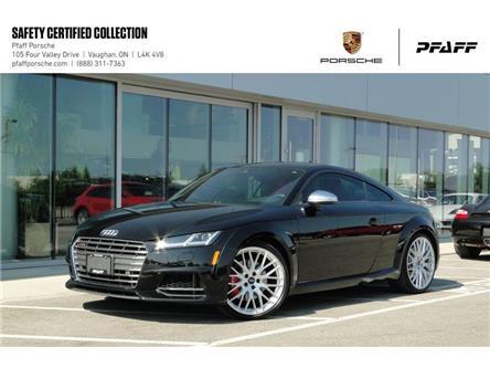 2017 Audi TTS 2.0T quattro 6sp S tronic Cpe (Stk: U8584A) in Vaughan - Image 1 of 22