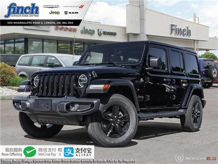 2020 Jeep Wrangler Unlimited Sahara (Stk: 98621) in London - Image 1 of 24