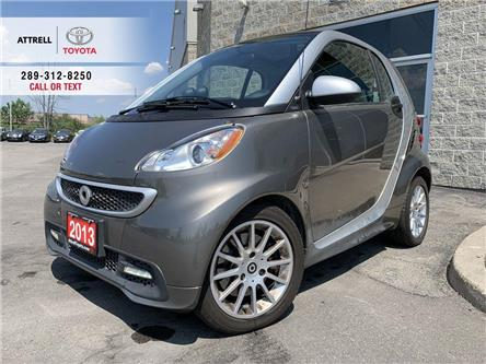 2013 Smart Fortwo PASSION NAVIGATION, ALLOY WHEELS, HEATED SEATS, FO (Stk: 47409A) in Brampton - Image 1 of 16