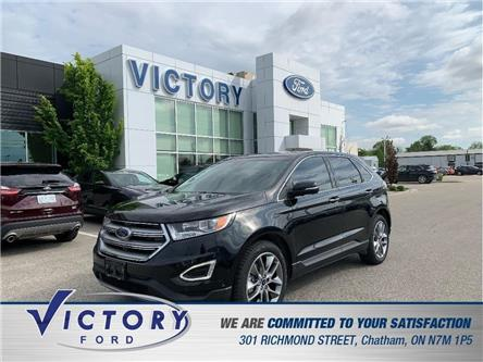 2015 Ford Edge Titanium (Stk: V4900) in Chatham - Image 1 of 27