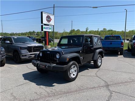 2018 Jeep Wrangler JK Sport (Stk: 90325) in Sudbury - Image 1 of 18