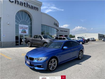 2016 BMW 435 Gran Coupe  (Stk: TDB) in Chatham - Image 1 of 21