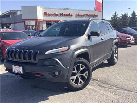 2016 Jeep Cherokee Trailhawk (Stk: U16272) in Barrie - Image 1 of 24