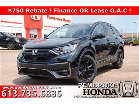 2020 Honda CR-V Black Edition (Stk: 20100) in Pembroke - Image 1 of 28