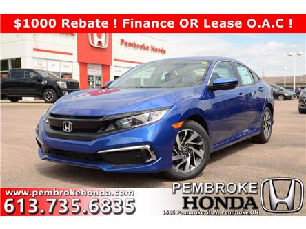 2020 Honda Civic EX (Stk: 20156) in Pembroke - Image 1 of 25