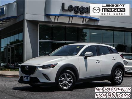 2018 Mazda CX-3 GS (Stk: 201837A) in Burlington - Image 1 of 24