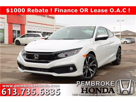 2020 Honda Civic Sport (Stk: 20152) in Pembroke - Image 1 of 24