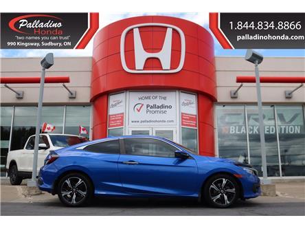 2017 Honda Civic Touring (Stk: U9626) in Greater Sudbury - Image 1 of 38