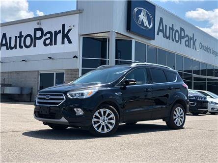 2017 Ford Escape Titanium (Stk: 17-66120JB) in Barrie - Image 1 of 28