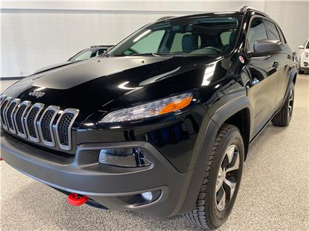 2018 Jeep Cherokee Trailhawk (Stk: P12427) in Calgary - Image 1 of 20