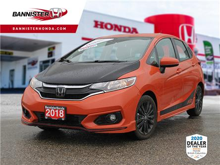 2018 Honda Fit Sport (Stk: L20-046) in Vernon - Image 1 of 13