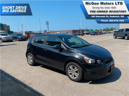 2013 Chevrolet Sonic LT Auto (Stk: 195625) in Goderich - Image 1 of 23