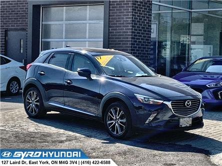 2017 Mazda CX-3 GT (Stk: H5775) in Toronto - Image 1 of 30