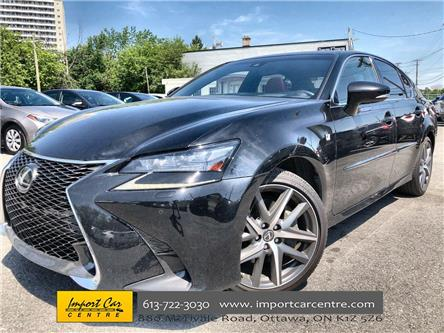 2016 Lexus GS 350 Base (Stk: 001877) in Ottawa - Image 1 of 26