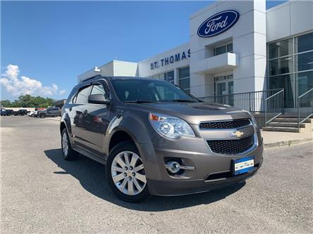 2011 Chevrolet Equinox 2LT (Stk: T0235B) in St. Thomas - Image 1 of 24