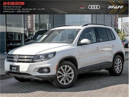 2013 Volkswagen Tiguan 2.0 TSI Highline (Stk: T17702A) in Woodbridge - Image 1 of 13