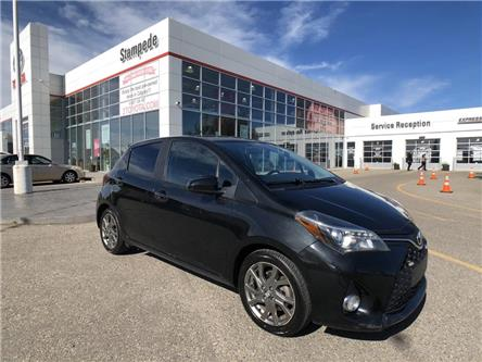 2015 Toyota Yaris SE (Stk: 9076A) in Calgary - Image 1 of 23