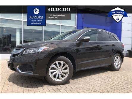 2017 Acura RDX Tech (Stk: A0213) in Ottawa - Image 1 of 13