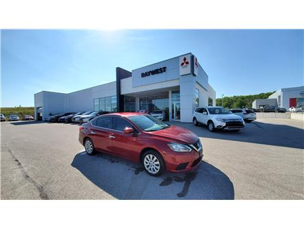 2018 Nissan Sentra 1.8 SV (Stk: PM20026) in Owen Sound - Image 1 of 14