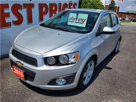 2015 Chevrolet Sonic LT Auto (Stk: 20-281T) in Oshawa - Image 1 of 14