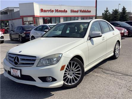 2009 Mercedes-Benz C-Class Base (Stk: U09616) in Barrie - Image 1 of 24