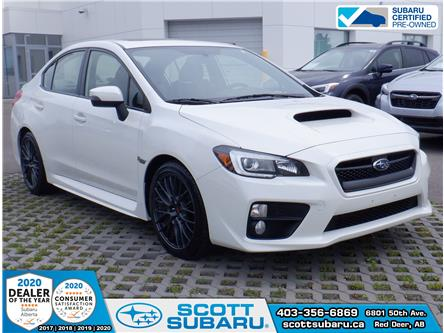 2017 Subaru WRX Sport-tech (Stk: 29131U) in Red Deer - Image 1 of 9