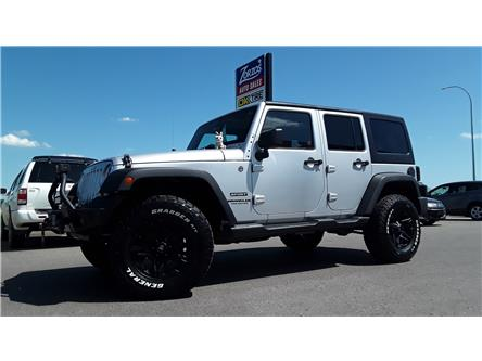 2012 Jeep Wrangler Unlimited Sport (Stk: P708) in Brandon - Image 1 of 30