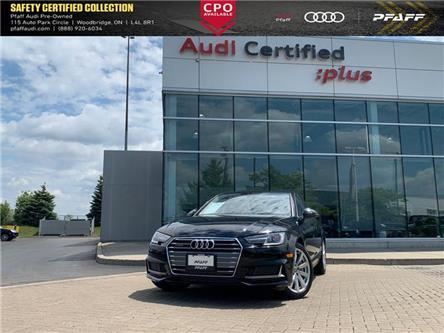 2019 Audi A4 45 Komfort (Stk: C7591) in Vaughan - Image 1 of 15
