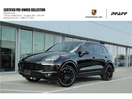 2017 Porsche Cayenne Platinum Edition (Stk: U8783) in Vaughan - Image 1 of 19