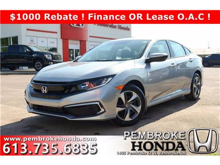 2020 Honda Civic LX (Stk: 20178) in Pembroke - Image 1 of 21