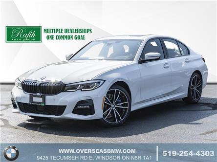 2020 BMW 330i xDrive (Stk: B8296) in Windsor - Image 1 of 23