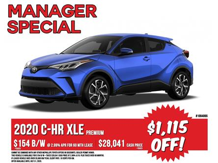 2020 Toyota C-HR XLE Premium (Stk: 1084065) in Winnipeg - Image 1 of 23