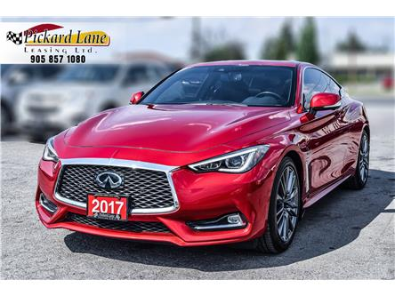 2017 Infiniti Q60 3.0t Red Sport 400 (Stk: ) in Bolton - Image 1 of 23