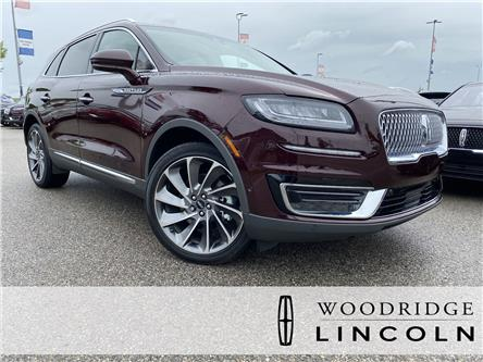 2019 Lincoln Nautilus Reserve (Stk: L-467A) in Calgary - Image 1 of 22