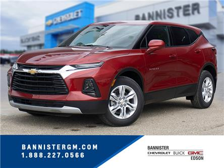 2020 Chevrolet Blazer LT (Stk: 20-082) in Edson - Image 1 of 17