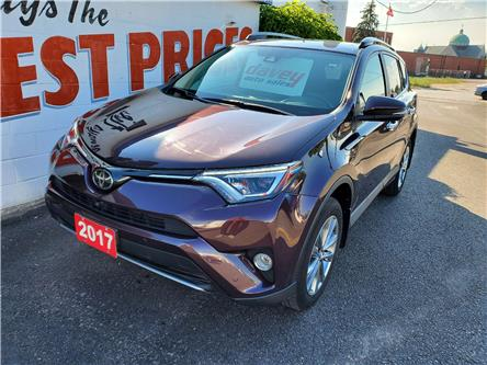 2017 Toyota RAV4 Limited (Stk: 20-201) in Oshawa - Image 1 of 14