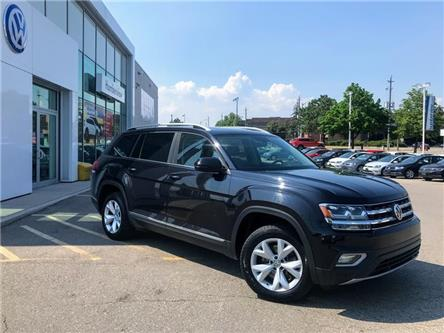 2018 Volkswagen Atlas 3.6 FSI Highline (Stk: 9706P) in Toronto - Image 1 of 21