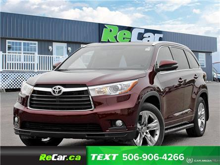 2014 Toyota Highlander Limited (Stk: 200747A) in Fredericton - Image 1 of 23