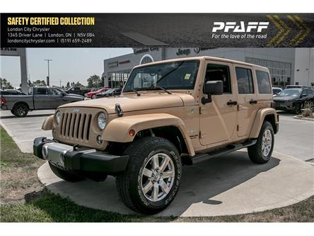 2014 Jeep Wrangler Unlimited Sahara (Stk: LC2413A) in London - Image 1 of 10