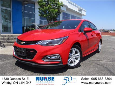 2016 Chevrolet Cruze LT Auto (Stk: 10X332) in Whitby - Image 1 of 26