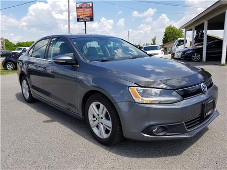 2013 Volkswagen Jetta Turbocharged Hybrid Highline (Stk: ) in Kemptville - Image 1 of 17