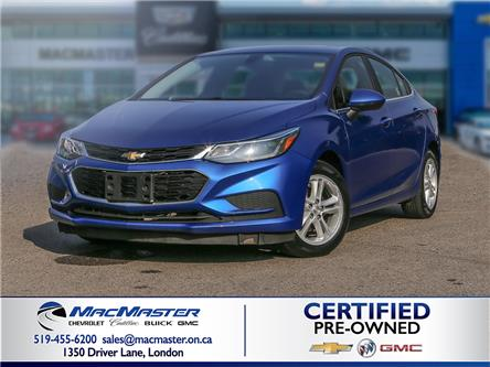 2017 Chevrolet Cruze LT Auto (Stk: 205100PA) in London - Image 1 of 10