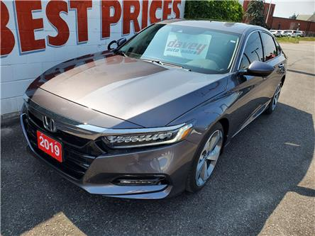 2019 Honda Accord Touring 1.5T (Stk: 20-300) in Oshawa - Image 1 of 16